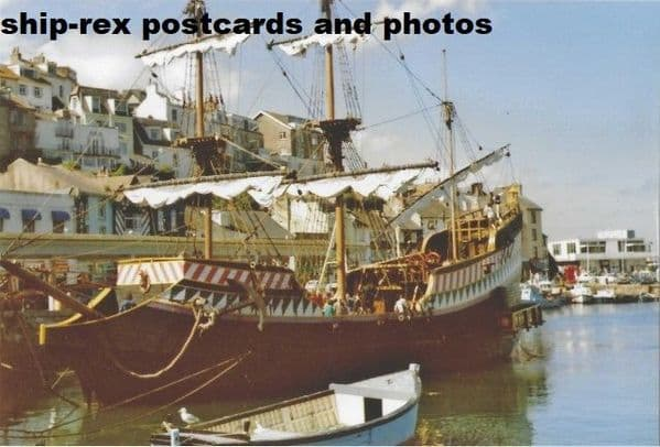 GOLDEN HIND (1988, Brixham replica) photo