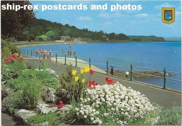 Grange-over-Sands, postcard (b)
