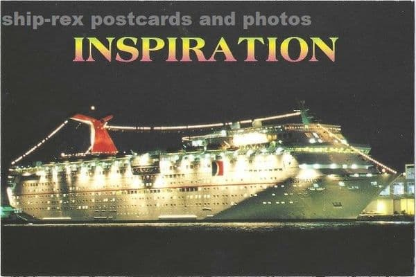 INSPIRATION (Carnival Cruise Line) postcard (b)