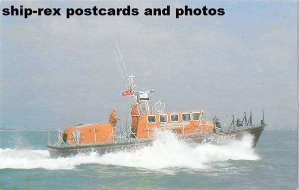 JAMES BURROUGH (lifeboat) postcard (a1)