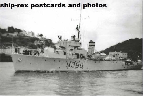JEWEL (HMS) (M390) - modern photo
