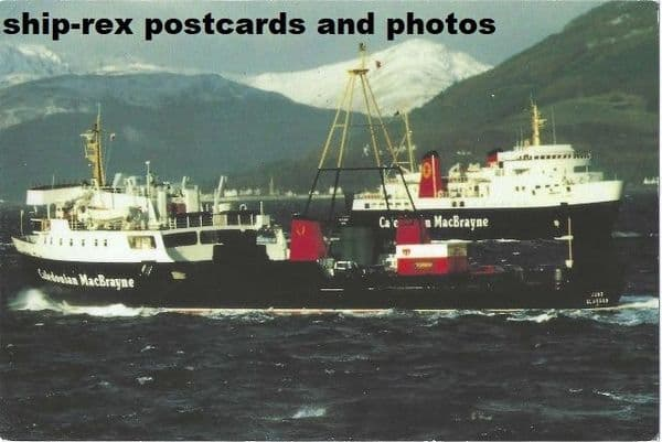 JUNO (1974) & ISLE OF ARRAN postcard
