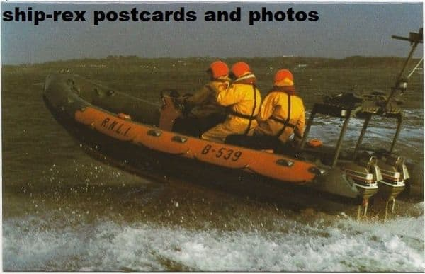 LIONS INTERNATIONAL (Atlantic 21 Lifeboat) postcard