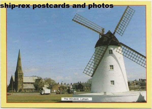 Lytham St Annes, The Windmill, postcard