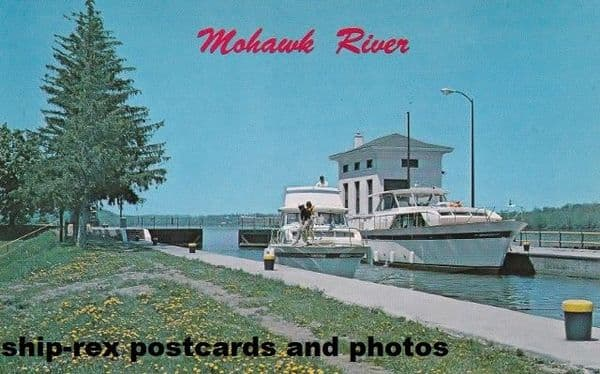 Mohawk River (New York) postcard