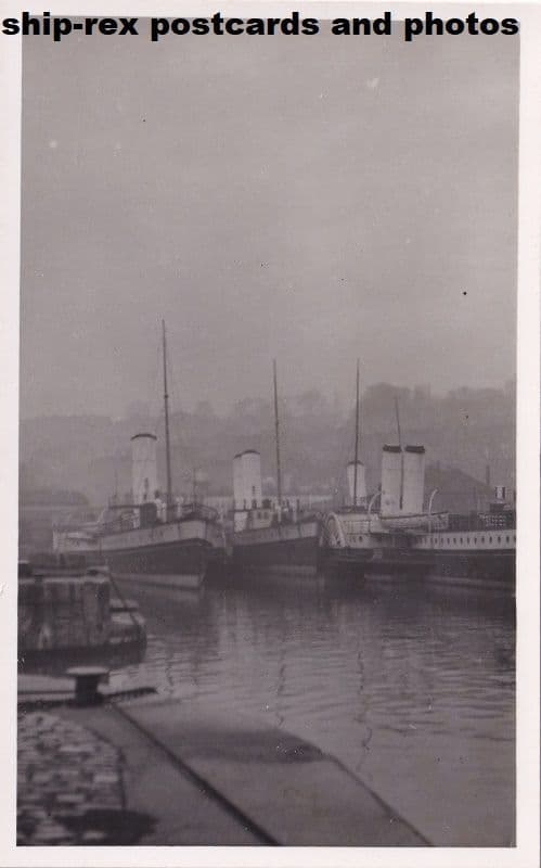 P&A Campbell steamers at Bristol