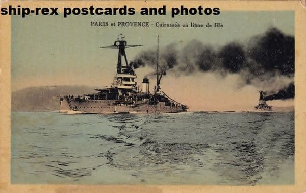 PARIS (1914a) & PROVENCE (1916)(French Navy)