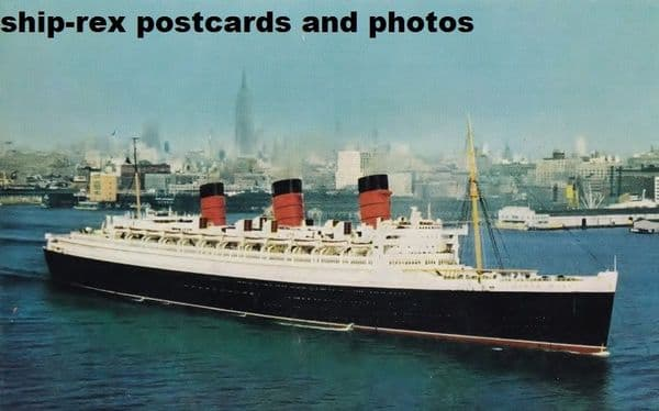 QUEEN MARY (1936c, Cunard Line)~c2