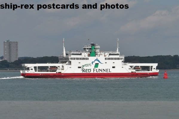 RED FALCON (1994c1, Red Funnel)