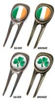 Celtic Pitchfork / Divot Tool / Pitchmark Repairer Ireland Collection