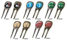 Celtic Pitchfork / Divot Tool / Pitchmark Repairer Society Gift / Prize Collection