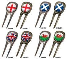 Celtic Pitchfork / Divot Tool / Pitchmark Repairer UK Collection
