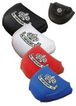 Customised Golf Leathertte Mallet Putter HeadCover
