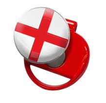 England Oasis Golf Cap Clip Red by Asbri - Society Day Gift or Prize