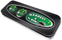 Nearest the Pin Golf Gift Set - Pitchmark Repairer and Cap Clip - Nearest the Pin Silver