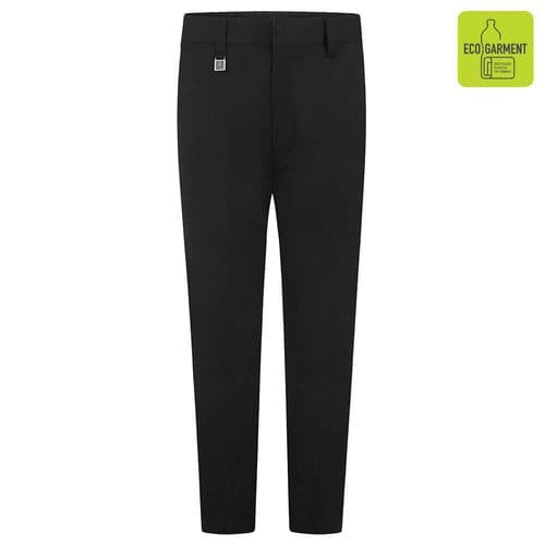 Boys Slim Fit Flat Front Trouser by Zeco