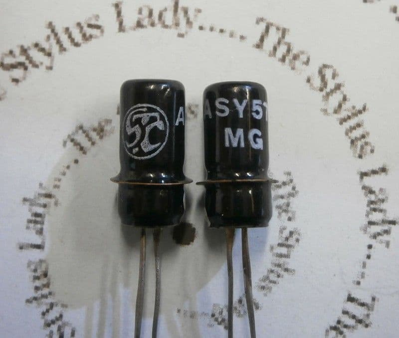 ASY57 STC Germanium Transistors x 2, tested NOS