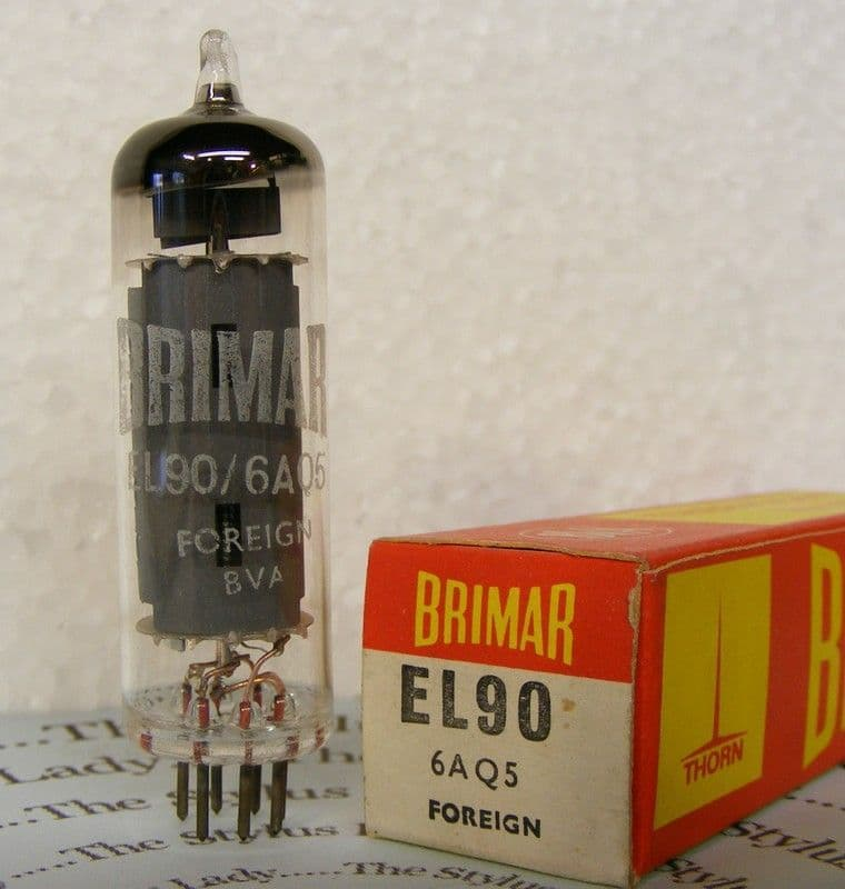 EL90, Brimar valve, new and boxed, tested
