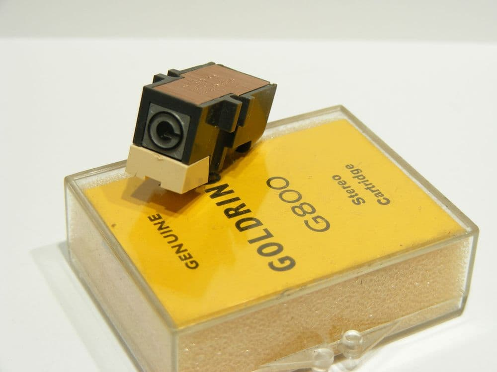 Goldring G800 New Cartridge and Stylus