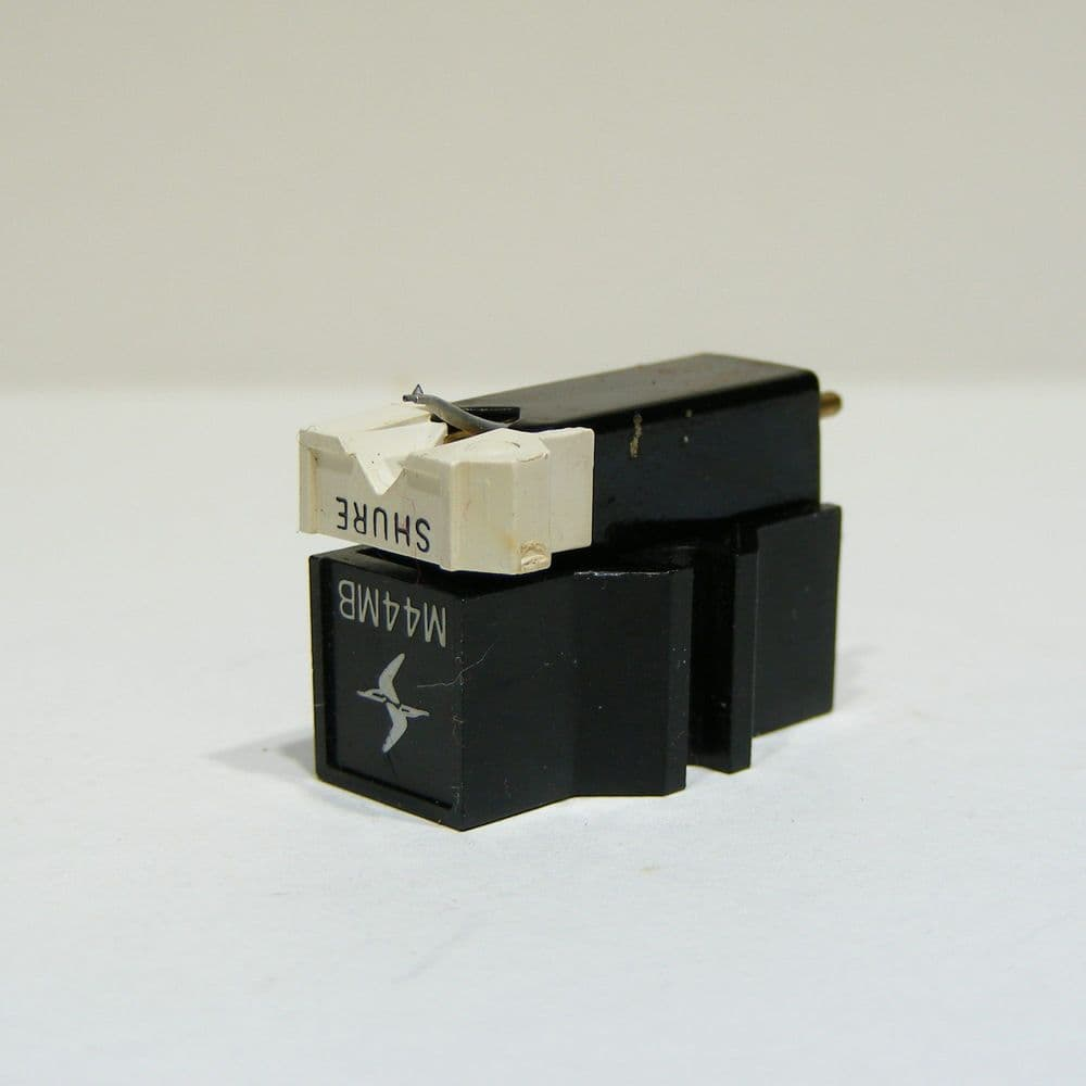 Shure M44MB Cartridge fitted with new original stylus