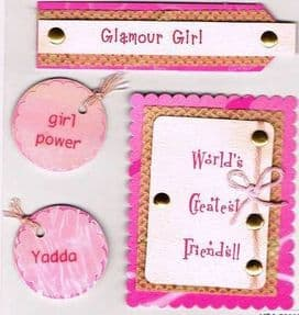 Glamour Girl Toppers - HSA3009D
