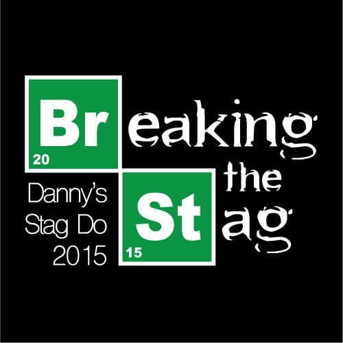 Breaking Stag T-Shirts (Min 8)