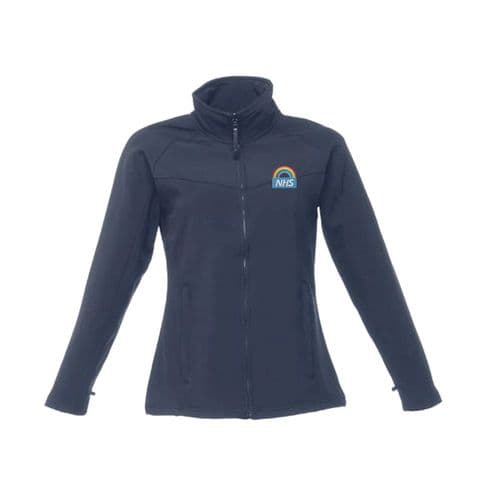 NHS Rainbow Design 2 Ladies Soft Shell Jacket
