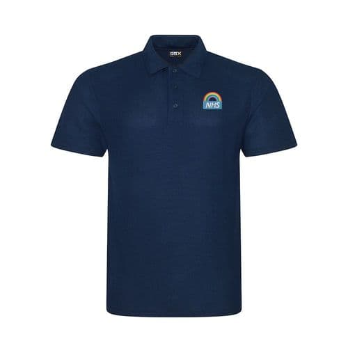NHS Rainbow Design 2 Polo Shirt