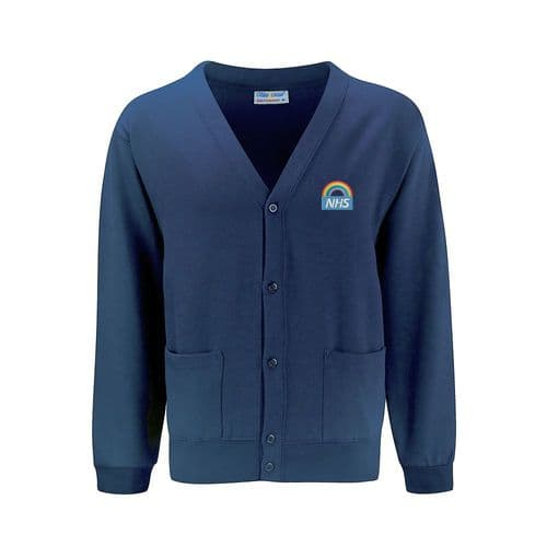 NHS Rainbow Design 2 Unisex Cardigan