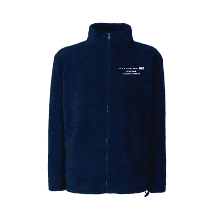 Royal Brompton & Harefield Full Zipped Fleece Jacket