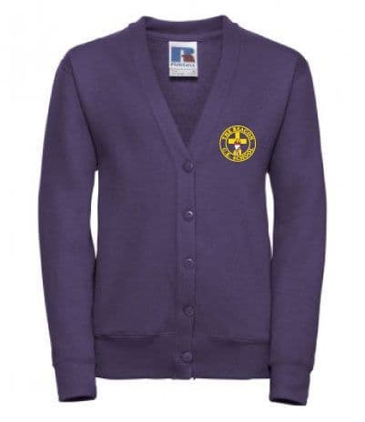 The Beacon School Sweatshirt Cardigan