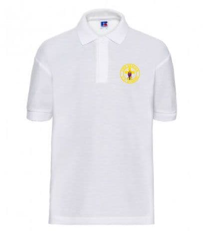 The Beacon School White Polo Shirt
