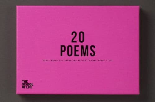 20 Poems Card Set