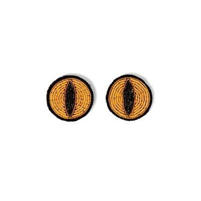 Cat's Eye Brooches (pair)