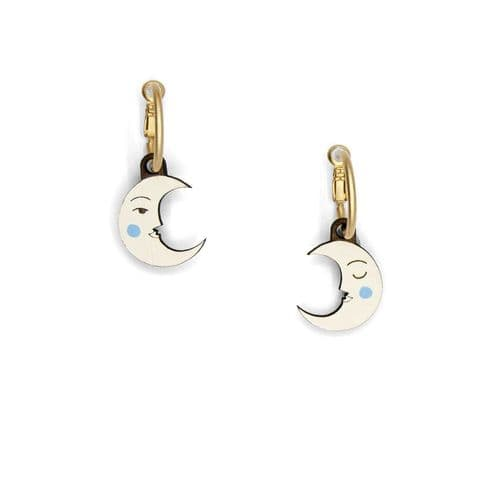 Crescent Luna Earrings