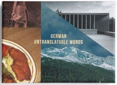 German Untranslatable Words
