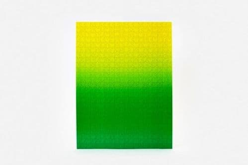 Green & Yellow Gradient Jigsaw Puzzle