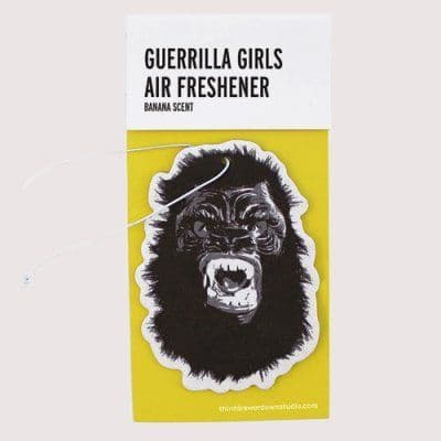 Guerrilla Girls Air Freshener - Eliminate the Stench of the Patriarchy