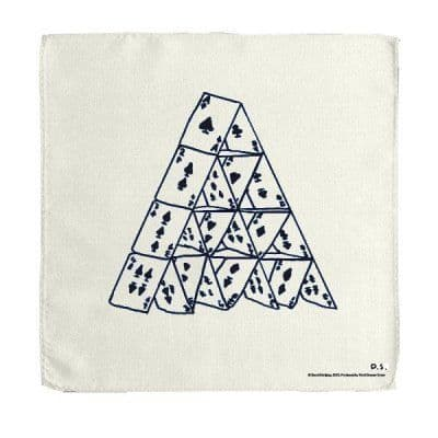 House of Cards Handkerchief