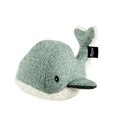 Moby the Whale (Dark Green) Soft Toy with comforter music box