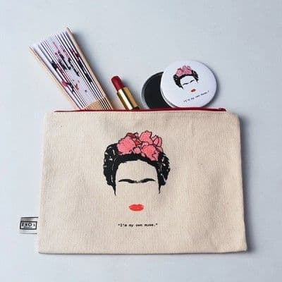 Muse Carryall Pouch (Frida Kahlo)