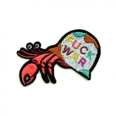 Peace Hermit Crab Patch