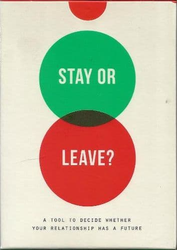 Stay or Leave? Card Game