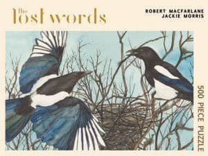 The Lost Words (Magpie) - 500 Piece Jigsaw