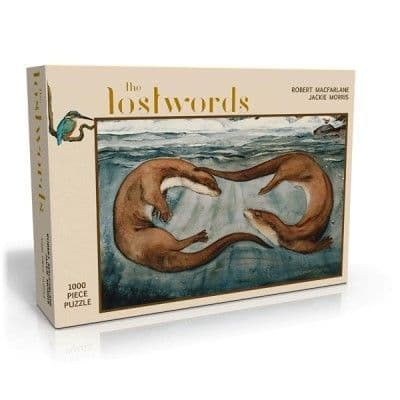 The Lost Words (Otter)  - 1000 Piece Jigsaw
