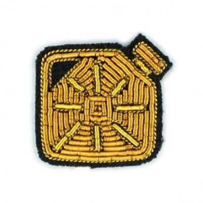 Yellow Can Brooch