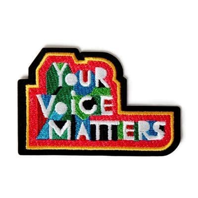 Your Voice Matters Repair Patch