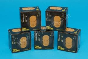 75mm Velcro Hookit sanding discs 80,120,180,240,320,400,500,600,800,1000,1200,1500,2000 and 3000