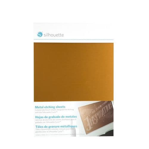 Silhouette Curio Metal Etching Sheets