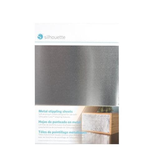 Silhouette Curio Metal Stippling Sheets